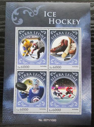 Poštovní známky Sierra Leone 2016 Lední hokej Mi# 6993-96 Kat 11€