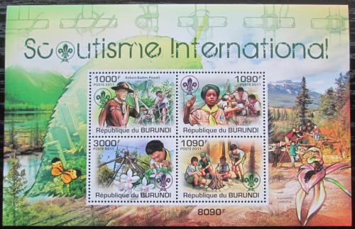 Poštovní známky Burundi 2011 Skauti Mi# Block 180