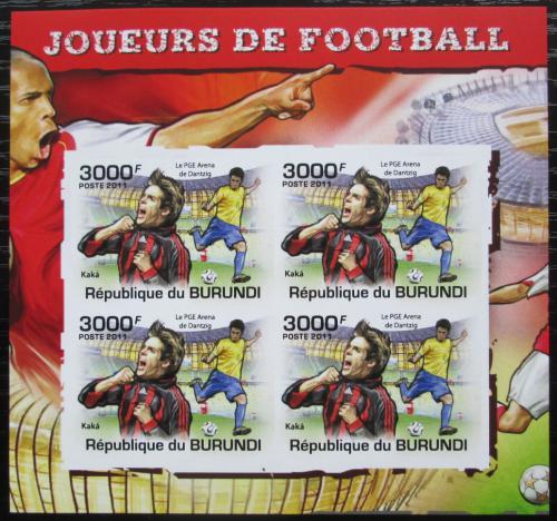Poštovní známky Burundi 2011 Kaká neperf. Mi# 2144 B Bogen