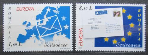 Poštovní známky Rumunsko 2008 Evropa CEPT Mi# 6294-95 Kat 7.20€