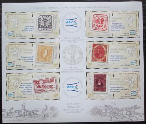 Poštovní známky Rumunsko 2008 Výstava EFIRO Mi# Block 426 Kat 13€