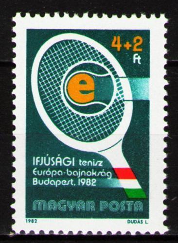 Poštovní známka Maïarsko 1982 Tenis Mi# 3537