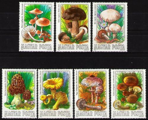 Poštovní známky Maïarsko 1984 Houby Mi# 3708-14 Kat 6.50€