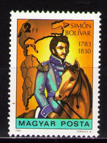 Poštovní známka Maïarsko 1983 Simón Bolívar Mi# 3621