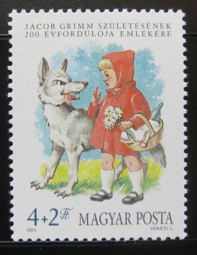 Poštovní známka Maïarsko 1985 Èervená Karkulka Mi# 3746