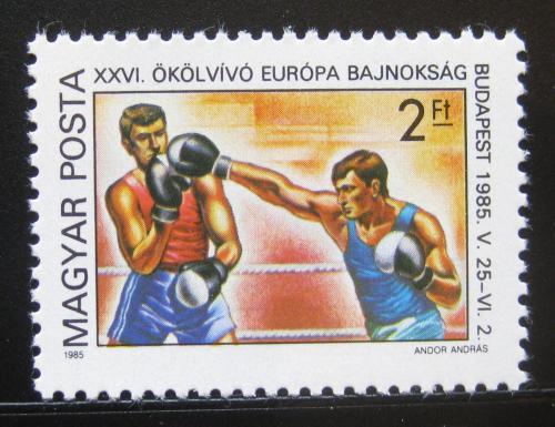 Poštovní známka Maïarsko 1985 ME v boxu Mi# 3750