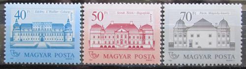 Poštovní známky Maïarsko 1987 Zámky Mi# 3914-16 Kat 11€