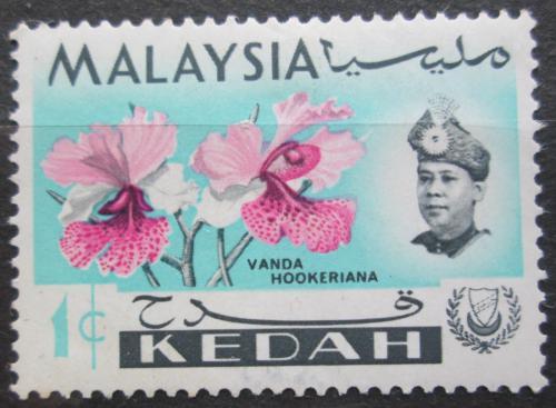 Poštovní známka Malajsie, Kedah 1965 Orchideje Mi# 106 X