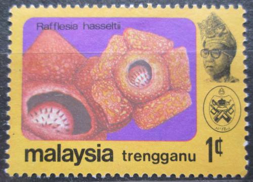 Poštovní známka Malajsie, Trengganu 1979 Kvìtiny Mi# 104