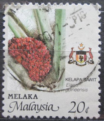 Poštovní známka Malajsie, Malakka 1986 Palmový olej Mi# 99 A