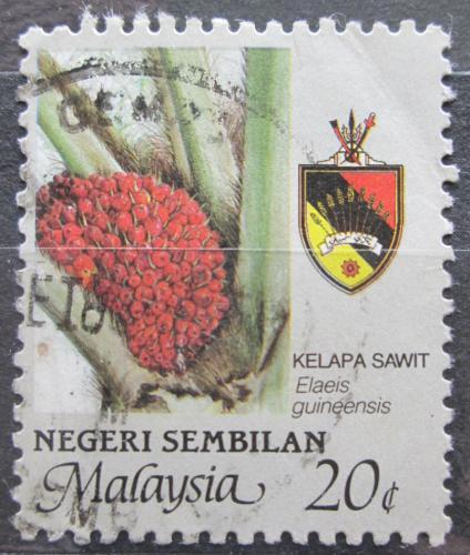 Poštovní známka Malajsie, Negri Sembilan 1986 Palmový olej Mi# 114 A