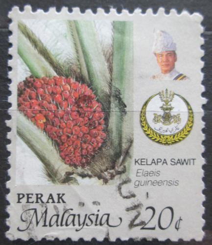 Poštovní známka Malajsie, Perak 1986 Palmový olej Mi# 151 A