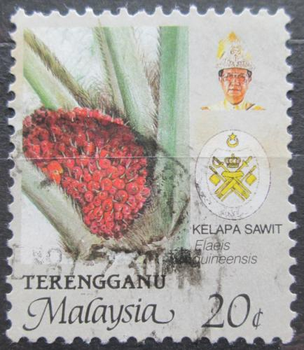 Poštovní známka Malajsie, Trengganu 1986 Palmový olej Mi# 126 A