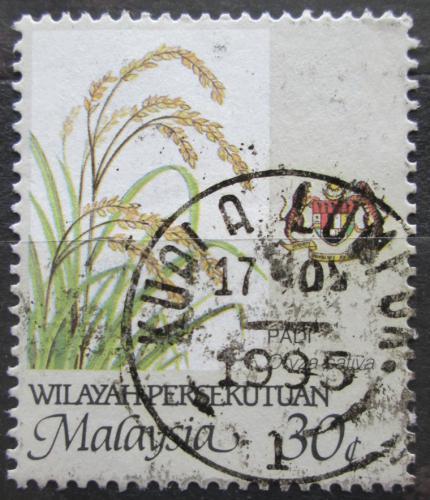 Poštovní známka Malajsie 1986 Rýže Mi# 21 F