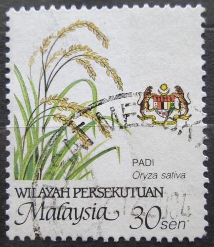 Poštovní známka Malajsie 2002 Rýže Mi# 25 D