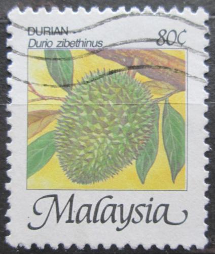 Poštovní známka Malajsie 1986 Durian cibetkový Mi# 332 I XA