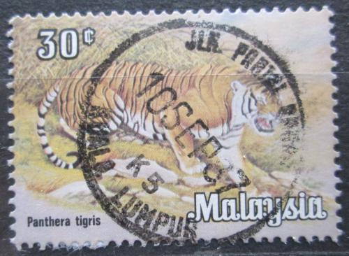 Poštovní známka Malajsie 1984 Tygr Mi# 189 X