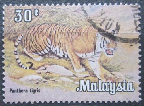 Poštovní známka Malajsie 1979 Tygr Mi# 189 Y