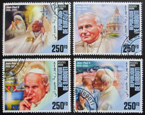 Poštovní známky Džibutsko 2020 Papež Jan Pavel II. Mi# N/N
