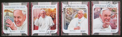Poštovní známky Niger 2017 Papež František Mi# 4925-28 Kat 13€