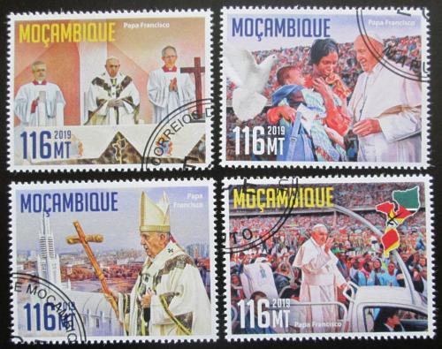 Poštovní známky Mosambik 2019 Papež František Mi# N/N
