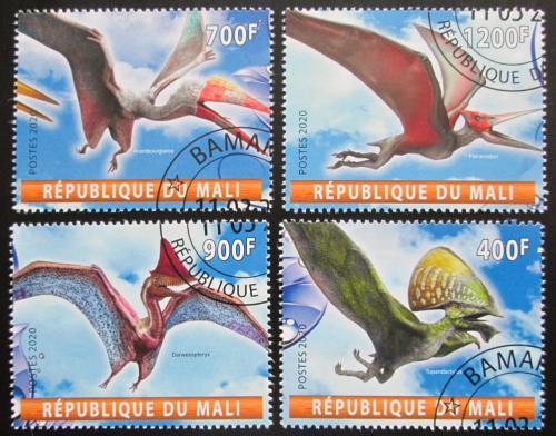 Poštovní známky Mali 2020 Létající dinosauøi Mi# N/N