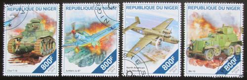 Poštovní známky Niger 2019 Váleèná technika 2. svìtové války Mi# N/N