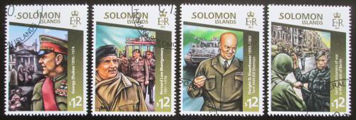 Poštovní známky Šalamounovy ostrovy 2015 Konec války Mi# 3042-45 Kat 17€