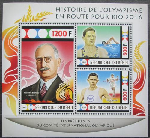 Poštovní známky Benin 2015 LOH Rio de Janeiro Mi# N/N