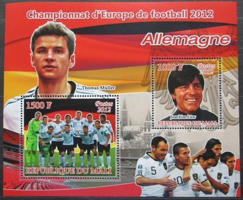 Poštovní známky Mali 2012 ME ve fotbale, tým Nìmecko Mi# N/N