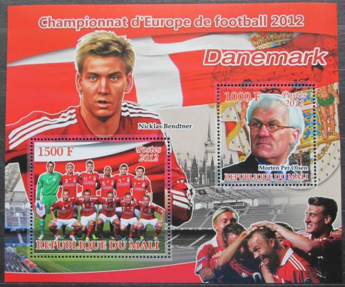 Poštovní známky Mali 2012 ME ve fotbale, tým Dánsko Mi# N/N