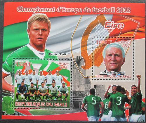 Poštovní známky Mali 2012 ME ve fotbale, tým Irsko Mi# N/N