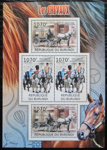 Poštovní známky Burundi 2012 Dostavníky Mi# 2401-02 Bogen