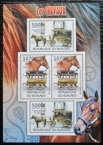 Poštovní známky Burundi 2012 Dostavníky Mi# 2403-04 Bogen