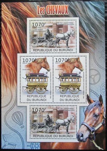 Poštovní známky Burundi 2012 Dostavníky Mi# 2401,2403 Bogen