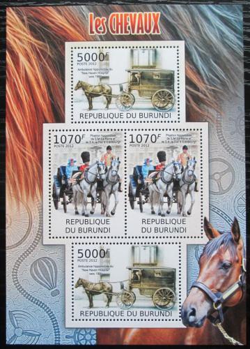Poštovní známky Burundi 2012 Dostavníky Mi# 2402,2404 Bogen