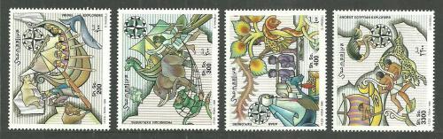 Poštovní známky Somálsko 1999 Lodì TOP SET Mi# 770-73 Kat 19€