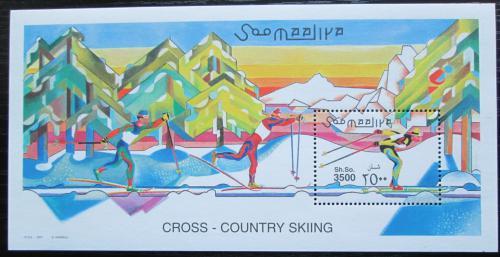 Poštovní známka Somálsko 2001 Bìh na lyžích TOP SET Mi# Block 76 Kat 20€