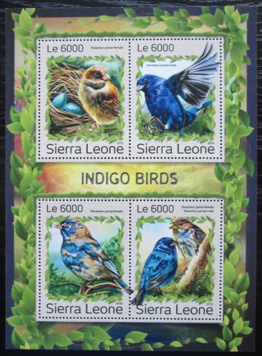 Poštovní známky Sierra Leone 2016 Papežík indigový Mi# 7958-61 Kat 11€
