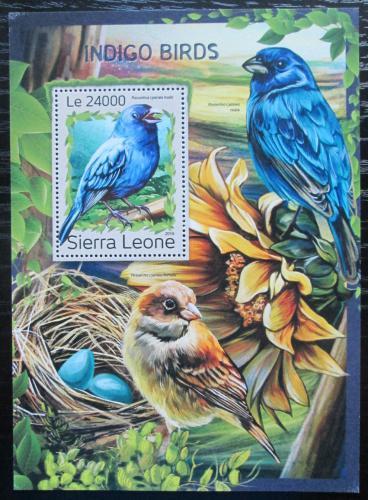 Poštovní známka Sierra Leone 2016 Papežík indigový Mi# Block 1124 Kat 11€