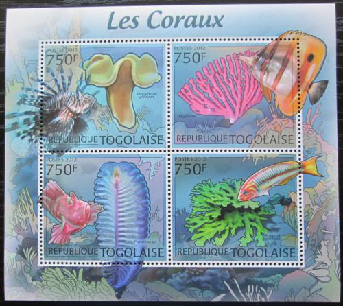 Poštovní známky Togo 2012 Ryby a korály Mi# 4413-16 Kat 12€