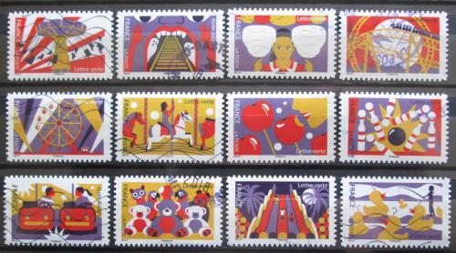Poštovní známky Francie 2017 Jarmark Mi# 6755-66 Kat 20€