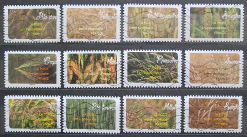 Poštovní známky Francie 2017 Obiloviny Mi# 6777-88 Kat 24€