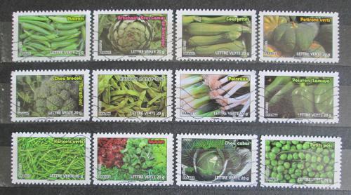 Poštovní známky Francie 2012 Zelenina Mi# 5402-13 Kat 14€