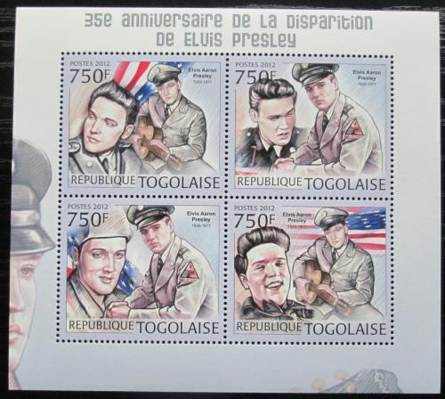 Poštovní známky Togo 2012 Elvis Presley Mi# 4563-66 Kat 12€