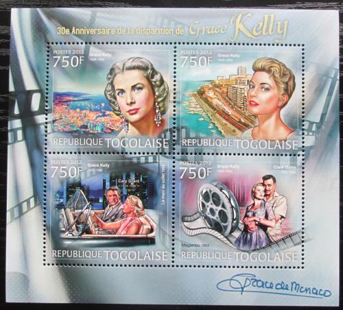 Poštovní známky Togo 2012 Grace Kelly Mi# 4568-71 Kat 12€
