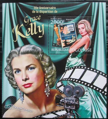 Poštovní známka Togo 2012 Grace Kelly Mi# Block 730 Kat 8€