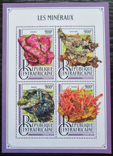 Poštovní známky SAR 2016 Minerály Mi# 6620-23 Kat 16€