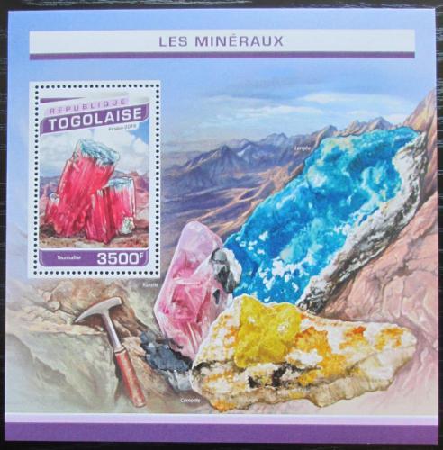 Poštovní známka Togo 2016 Minerály Mi# Block 1352 Kat 14€