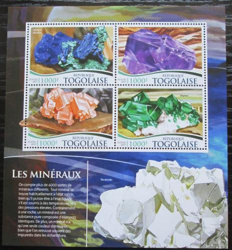 Poštovní známky Togo 2015 Minerály Mi# 6744-47 Kat 16€